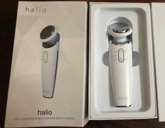 Halio Ion Cleansing Moisturizing Beauty Device