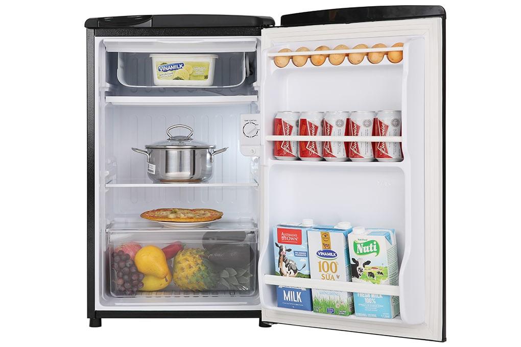 Tủ lạnh mini có ngăn đá Aqua 90L AQR-D99FA